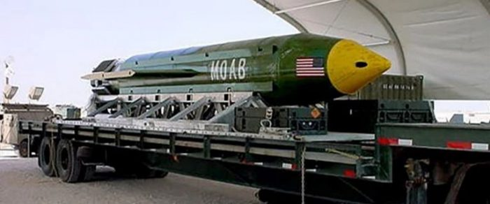US Drops Non-Nuclear 'Mother Of All Bombs' In Afghanistan After Green Beret Killed (Video)