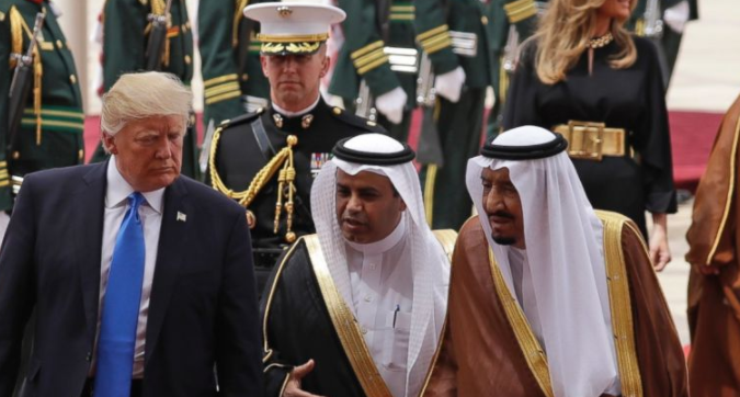 Trump In Saudi Arabia Signs $110 BILLION Arms Deal With Persian Gulf Ally