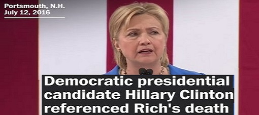 ABSOLUTELY SICKENING! Here Is Video Of Hillary Using Seth Rich MURDER To Push Gun Control