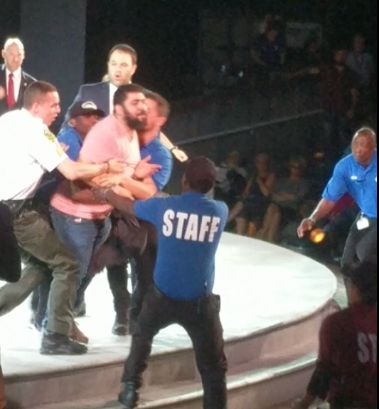 "SECOND PROTESTER STORMS STAGE At NYC Trump Assassination Play! ""Goebbels Would Be Proud! (Video)"