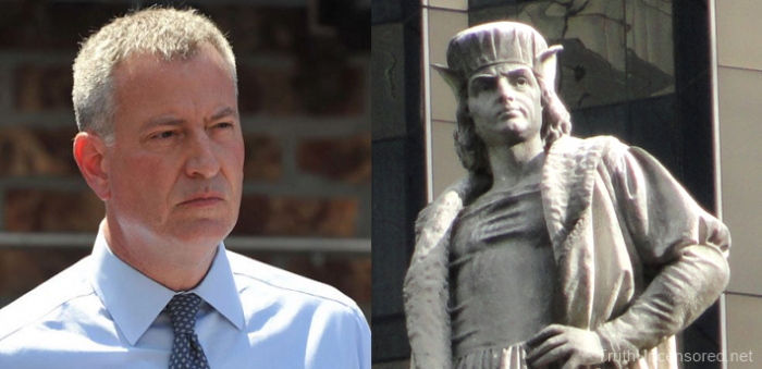 Culture DESTRUCTION: De Blasio Wants Christopher Columbus Statue Removed – ITALIANS LIVID! (Video)