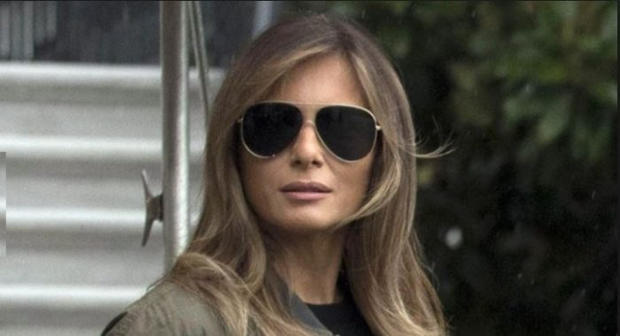 """Melania Gets Last Laugh After Media Mocks Her """"Inappropriate"""" Attire on Trip to Support TX Hurricane Victims (Video)"""
