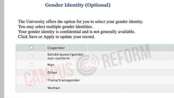 Princeton Students Can Choose Any—OR EVERY—Gender Identity (Video)