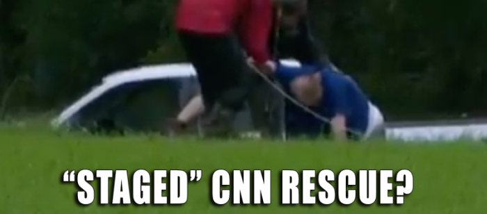 FAKE NEWS: CNN Caught Faking Harvey Rescue Video in Pathetic Stunt