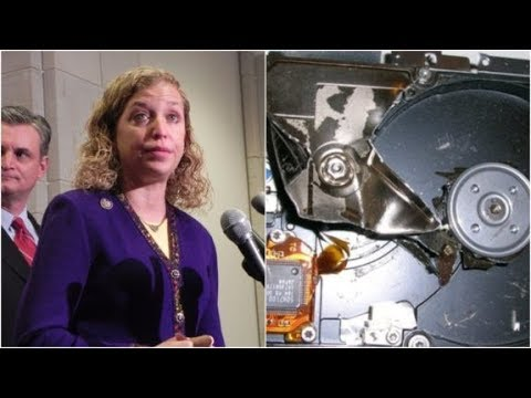 Debbie Wasserman Receives SHOCKING News From Police About Her Smashed Hard Drives (Video)