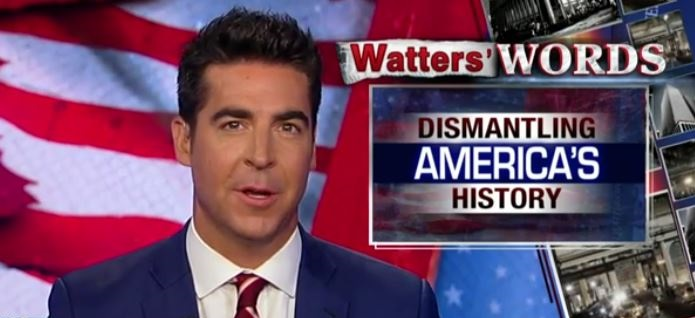 Jesse Watters: Maybe the Left Wants to Tear Down These Statues So We Forget Dems Enslaved Black People (Video)