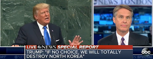 """ABC Reporter Comes Unhinged Over Trump's UN Speech Suggesting it Borders on """"War Crime"""" (Video)"""
