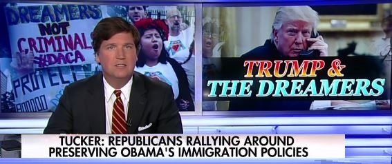 Carlson Chastises GOP Opposition to DACA Rollback: They Show More Affinity for Obama Policies Than Trump's (Video)