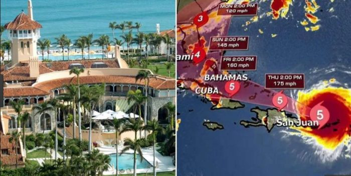 SICK! Liberals 'Pray' Hurricane Irma Destroys Mar-a-Lago And KILLS 'Trump and Family'