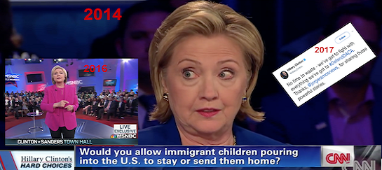 VIDEO Emerges of Hillary Clinton Saying 'Illegal' Immigrant 'DACA' Children Have to Go