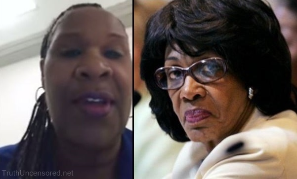 Black Trump Supporter Slams Maxine Waters At Her DC Office, 'She Only Cares About Illegal Criminals, Not African Americans' (Video)