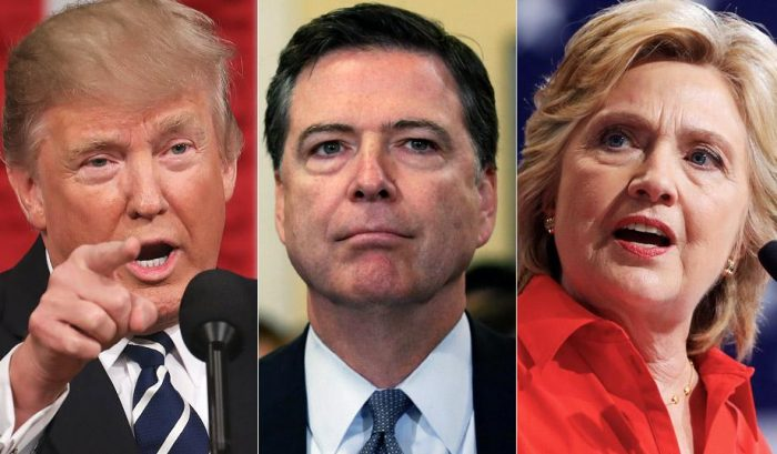 President Trump Blasts James Comey For 'RIGGED' Hillary Clinton Investigation