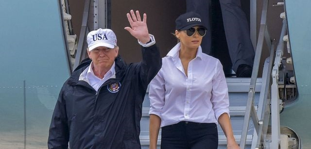 Very #FakeNews CNN Says Trump is 'Unethical' and Was Wrong to Wear USA Hat to Texas