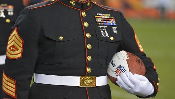 Ret. Marine Col. Calls Out NFL Anthem Protesters: 'They're Spitting on the Graves of Our Fallen' (Video)