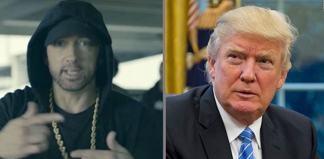 Rapper Eminem Goes on Vulgar and Profane Freestyle Rap Against President Trump at BET Awards (Video)