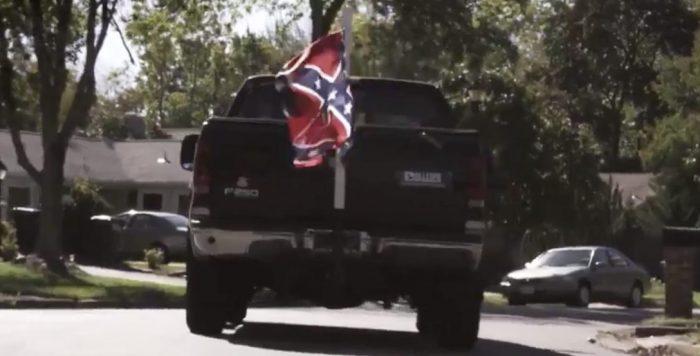 Democrats' Latest TV Ad: Republicans Run Down Children in Pickup Truck with Confederate Flag (Video)