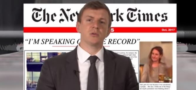BREAKING: O'Keefe Drops Third NY Times Undercover Video – Takes Down Homepage Editor Des Shoe (Video)
