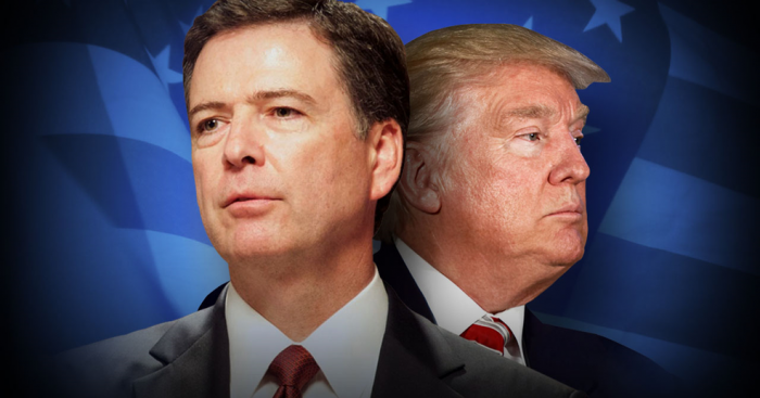 Trump Says Comey 'Totally Protected' Clinton, Calls Out DOJ as New Documents Confirm 'Obvious FIX' (Video)