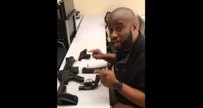WATCH: Firearms Instructor Destroys Left's Attempts to Blame Guns Instead of Criminals in Viral Video