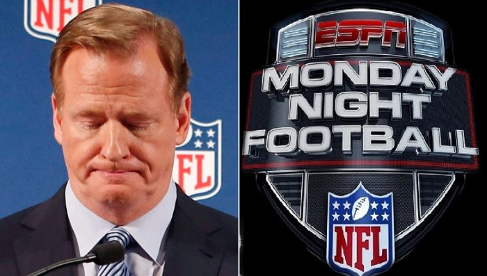NFL TANKS AGAIN: Fans Bail on 'Monday Night Football' As Ratings for Chiefs-Broncos Crash