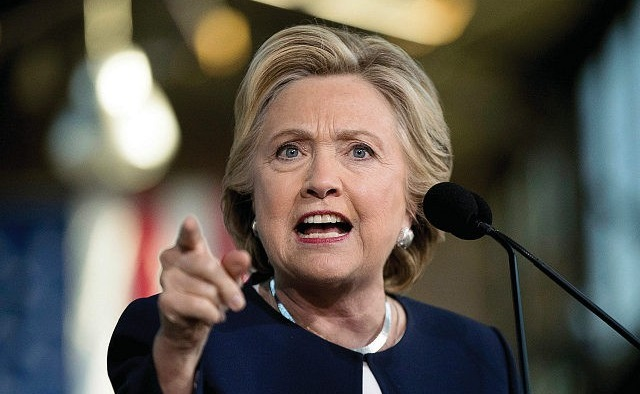 Hillary Clinton: President Trump and the Republican Party is 'Totally Sold to the Gun Lobby' (Video)