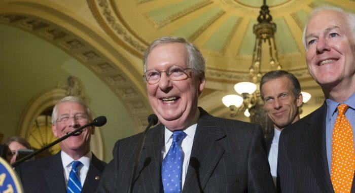 GOP Senators 'Laughed Out Loud' at Notion That Trump's Border Wall Would Get Built