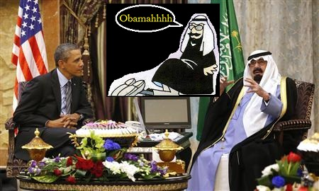 Obama Kisses Up To Saudi King