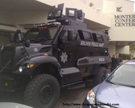 BREAKING NEWS: Obama administration is looking to distribute 13,000 armored mine-resistant vehicles to police departments around the country