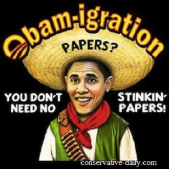 What Obama is doing is against the law! Obama Promises Illegals That Obamacare Signup Info Won't Be Used to Deport Them!