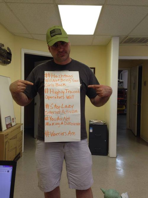 Fed Up Army Ranger's Stark Response to #BringBackOurGirls Shows the Vanity of 'Hashtag Activism'