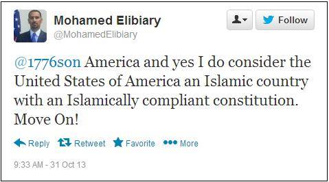 Obama DHS Adviser Mohamed Elibiary's Anti-American Tweets Celebrated by Brutal ISIS Jihadists