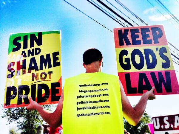 A Big Surprise for 'Westboro Baptist Church' While Protesting at a DC High School