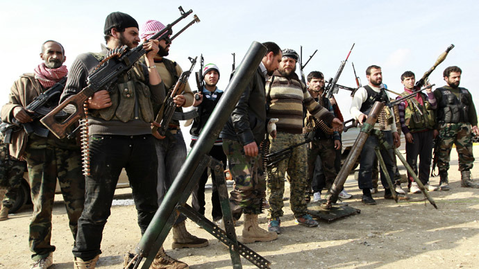Obama Asks For Authorization To Provide $500 MILLION In Direct Military Training To Syrian Rebels