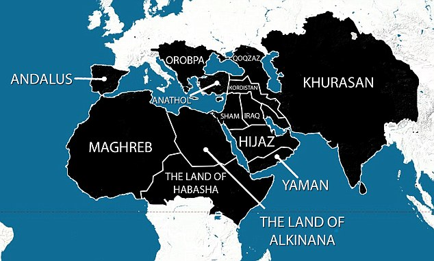 ISIS Map of the World: Militants Chilling Plan for Islamic Global Domination