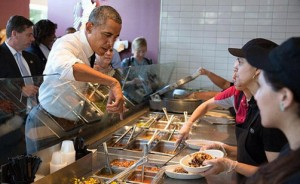 Obama Grosses Out Chipotle Customers