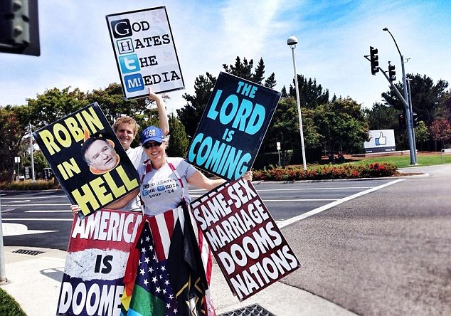 Westboro Baptist Church Plans to Picket Robin Williams' Funeral