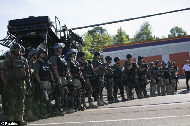 Pentagon Program Put $4.3 BILLION Worth Of Military Equipment In The Hands Of American Police Forces