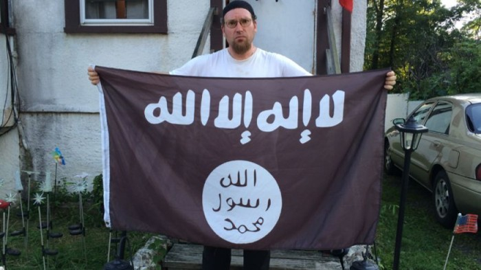 NJ Man Says ISIS Flag Flown On Porch A Misunderstanding Claiming He 'Had No Idea'