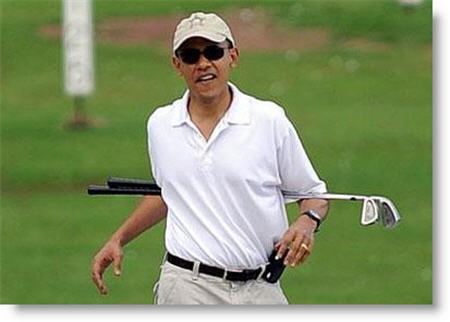 White House Defends Obama's Obsessive Golfing: 'Leisure Activities Are A Good Way For Release And Clearing Of The Mind'