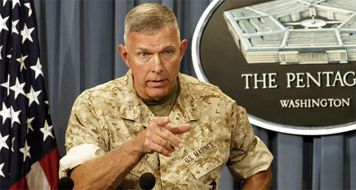 "Former Marine Corps Head: Obama's Strategy Against ISIS Doesn't Stand ""A Snowball's Chance In Hell Of Succeeding"""