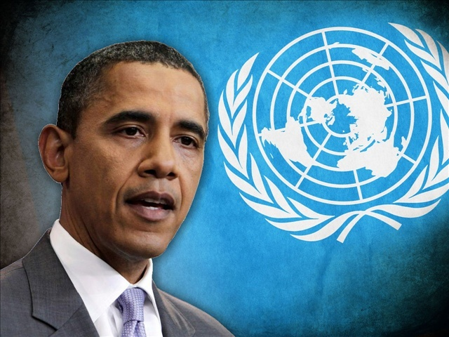 UN IN THE USA AND SETTING UP A 'DISARMAMENT SPECIALIST' TO TAKE AMERICANS GUNS