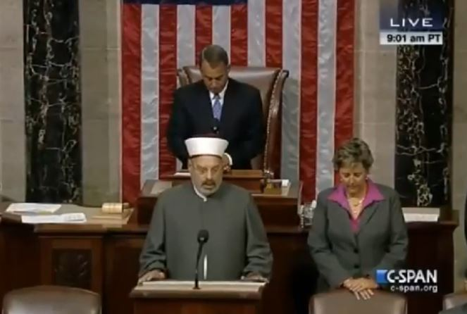 WATCH: Islam Invades House Floor With Prayer And Shocking Praise to Allah