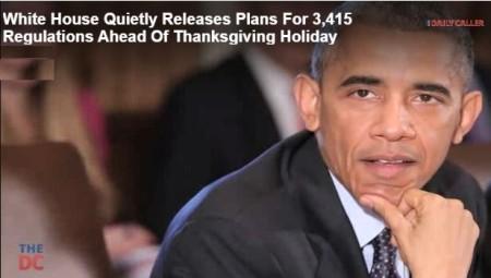 Obama regulatory agenda