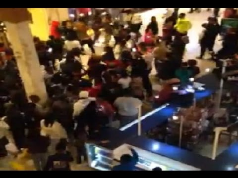 WATCH: OVER A THOUSAND TEENAGE BLACK GIRLS RIOT AND CLOSE ENTIRE MALL DOWN