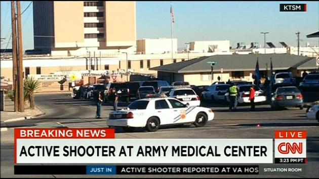 Breaking News: 'Active Shooter' Reported at El Paso Military Hospital