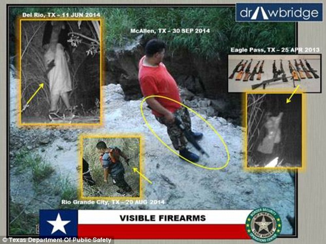 Shocking Images: Texas-Mexico Border – Hundreds Of Illegal's Smuggling Drugs And Guns Into US (Video)