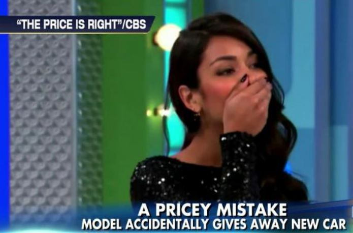 [Watch] 'Price Is Right' Model Mistakenly Gaves Away a Car!