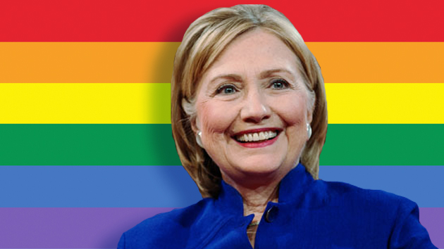 [Watch] Hillary Clinton Wants to Change the Constitution Making Same-Sex Marriages A 'Constitution Right'