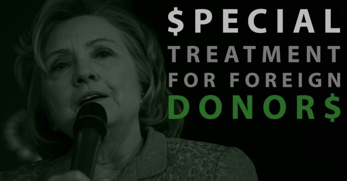 [Watch] Hillary Clinton Exposed For Rewarding Foreign Donors With Favors While Secretary Of State