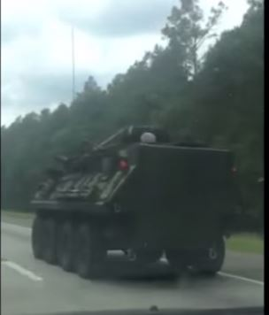 Jade Helm 15 Style Military Ops on I-95 in South Carolina [Video]